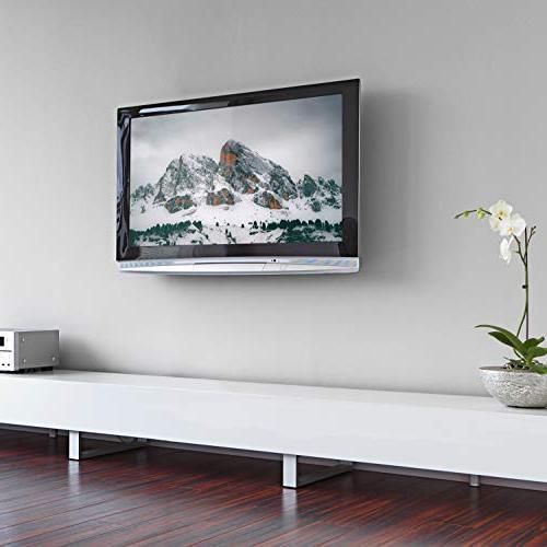 Mount-It! Tilting Mount Bracket For TCL 42 60 VESA 200x200 400x400 600x400, 750x450 Compatible Premium 175 Lbs
