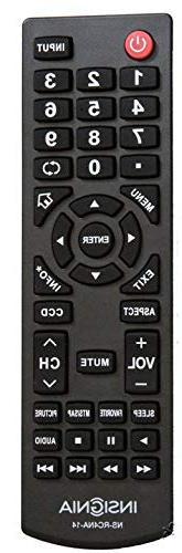 NEW insignia TV remote control NS-RC4NA-14 RC4NA14 NS-RC6NA-