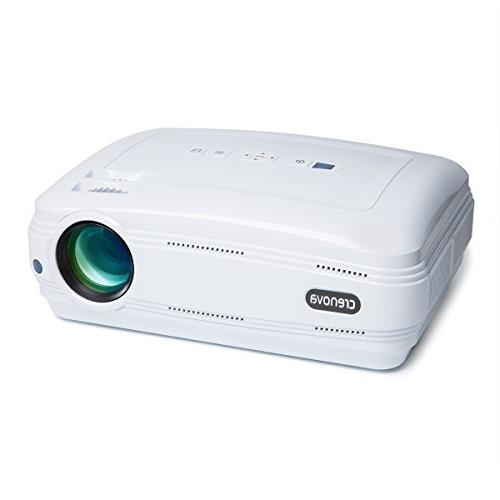 Video Projector, Crenova XPE680 720P HD Projector, Home Thea