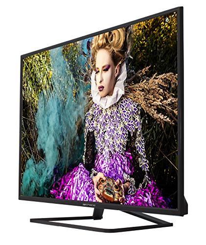 Sceptre 49-Inch Slim 4K UHD LED TV, Black