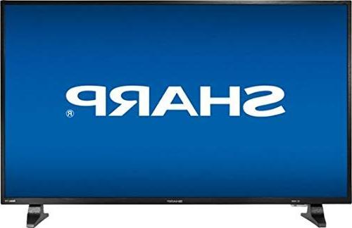 "Sharp - 43"" Class  - Led - 1080p - Smart - Hdtv Roku Tv - Bl"