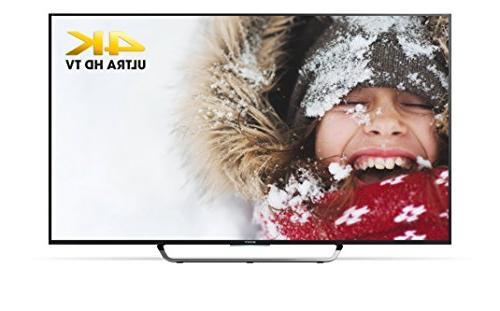 Sony XBR75X850C 75-Inch 4K Ultra HD 3D Smart LED TV