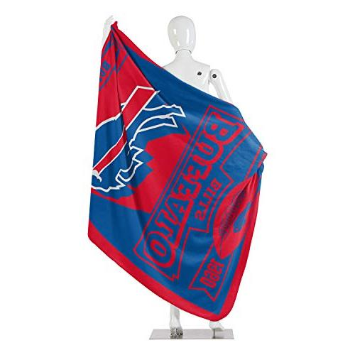 "The Northwest Company NFL Printed Fleece x Buffalo Bills, 50"""