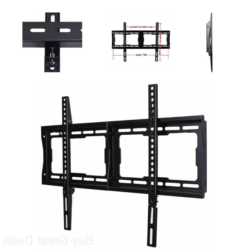 "VideoSecu Low Profile TV Wall Mount Bracket for Most 32"" - 7"