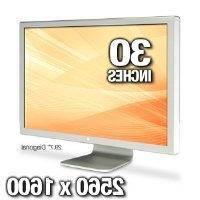 "Apple A1083 30"" Cinema HD LCD Monitor -"
