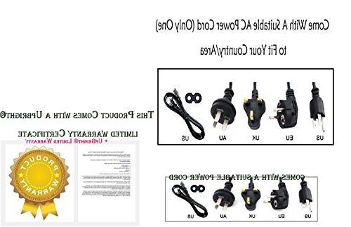"UpBright NEW AC IN Power 1908 HDLCD1912 HDLCD HDLCD1955W SLEDW SLEDVD226D SLED1945 19"" 26"" 19-Inch 720p LCD HD"