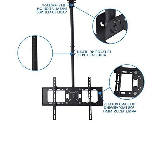 Vemount Ceiling Mount Bracket 40 42 50 Plasma LCD LED Monitor Panel Smart TV,VESA 400x400