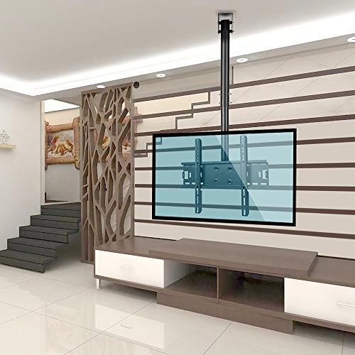 Vemount Adjustable Ceiling Mount Bracket 39 40 42 43 48 50 65 Plasma LCD LED Plasma Monitor Panel Smart TV,VESA 200x200 300x300 400x400 600x400