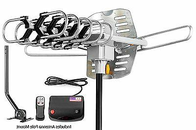ViewTV Outdoor Amplified Antenna with Adjustable Antenna Mou