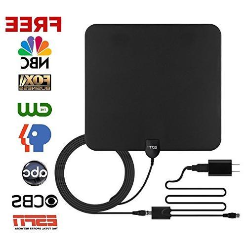 amplified antenna hdtv tv