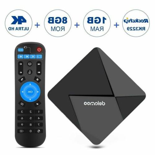Smart TV Box RK3229 DOLAMEE D5 Android 5.1 4K 1G+8G Quad Cor