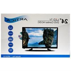 "ARTICA AR2418 24"" inch Led TV with DVD player HD Combo Digit"