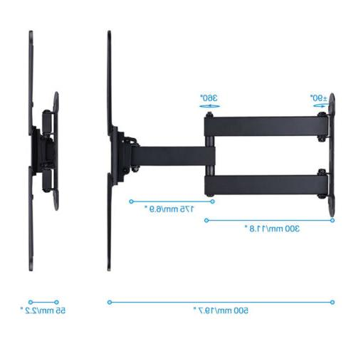 "Articulating Wall Tilt 180° For 26""32""37""42""50""55"""