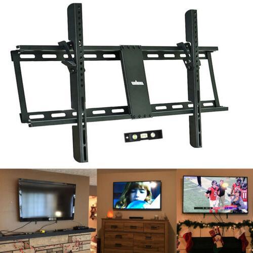 "Low Profile TV Wall Mount Bracket 32-80"" LCD OLED Plasma Scr"
