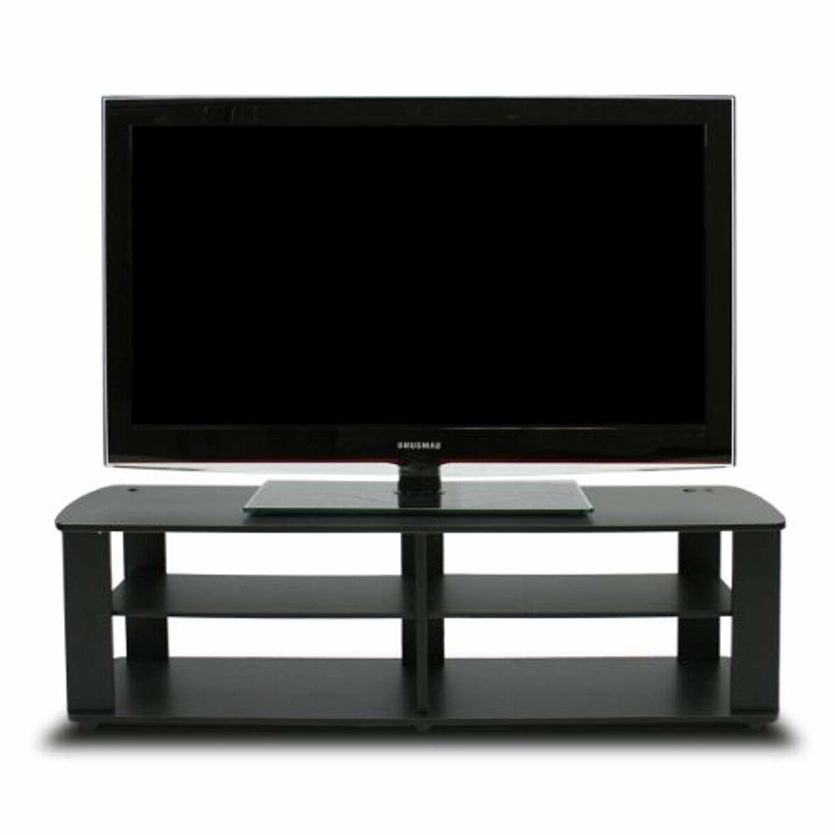 Black Tv Stand Media Entertainment Center 42 50 60 Inch Flat