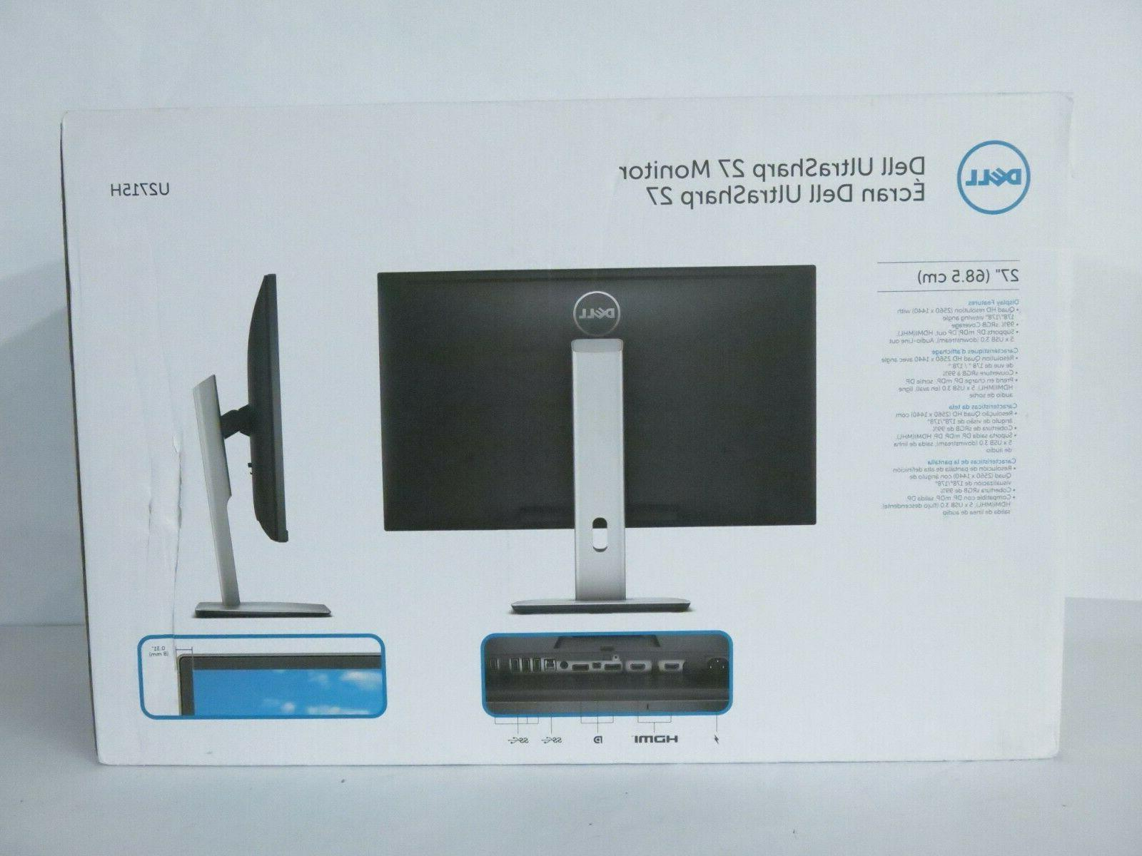 "Brand Dell 27"" LED - Damaged Box"
