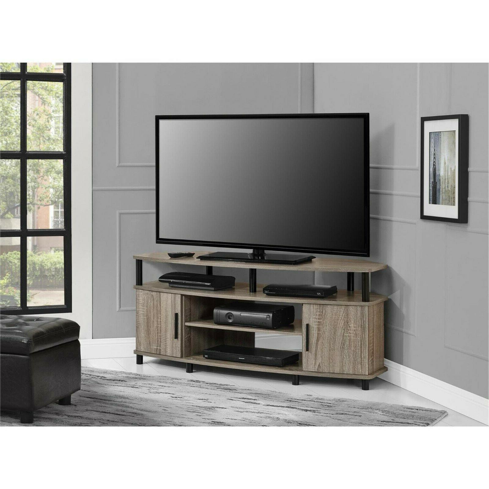 carson 50 inch sonoma oak corner tv