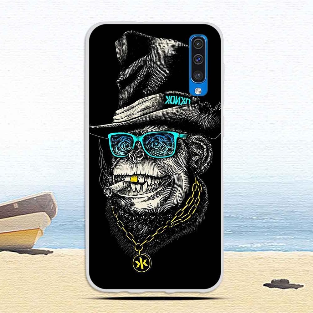 Case A50 A <font><b>50</b></font> Cat Soft TPU Cases for Galaxy Coque Capa