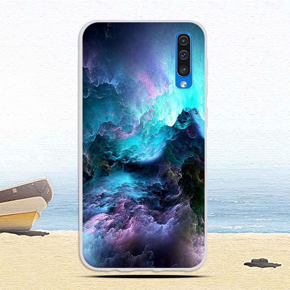 Case Galaxy A50 A <font><b>50</b></font> Soft Silicone for A50 Fundas Coque