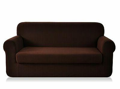 chunyi 2 piece jacquard polyester spandex sofa