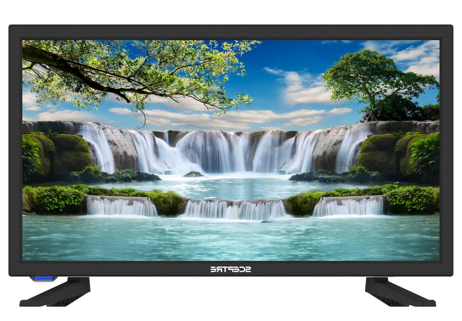 """Sceptre 19"""" Class HD 720p LED TV 60Hz With Built-in DVD Play"""
