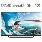 """Element 50"""" Class  4K Ultra HD LED LCD TV  Wi-fi Ready With"""