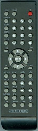 Smartby New CURTIS LEDVD2480B TV/DVD Combo Remote Control LE
