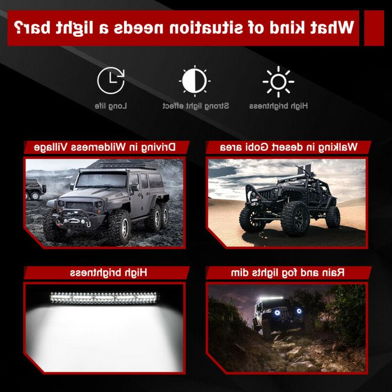 Curved 50 Tri Light Bar for Offroad 4X4