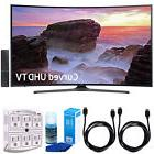 """Samsung Curved 65"""" 4K Ultra HD Smart LED TV  w/ Accessories"""
