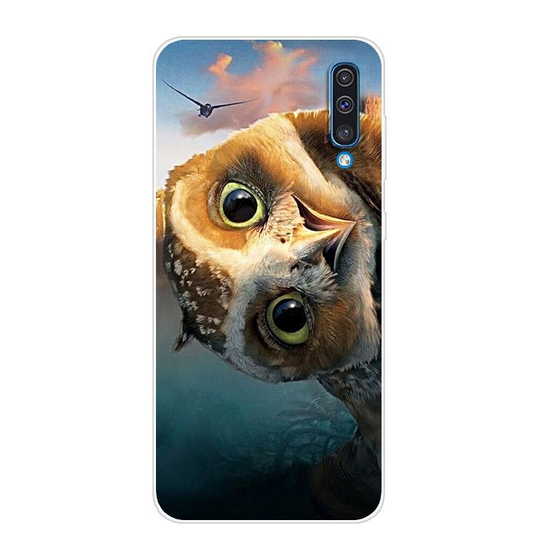 D 6.4'' A50 2019 Soft Case For Coque <font><b>Samsung</b></font> A505F A505