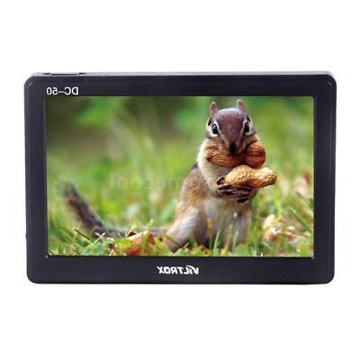 Video AV for DSLR Camcorder