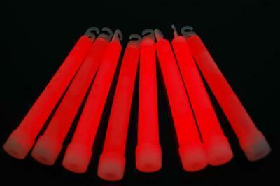 directglow 50 count red jumbo 6 inch