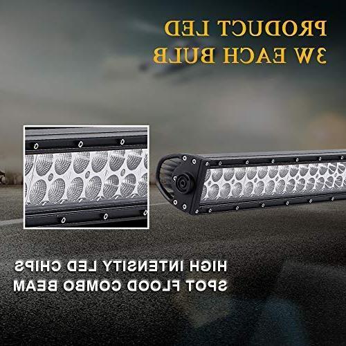 "QUAKEWORLD DOT 52"" 300w LED Spot Light Driving Lights Fog Offroad Ford Boat SUV ATV 4x4 Boat"