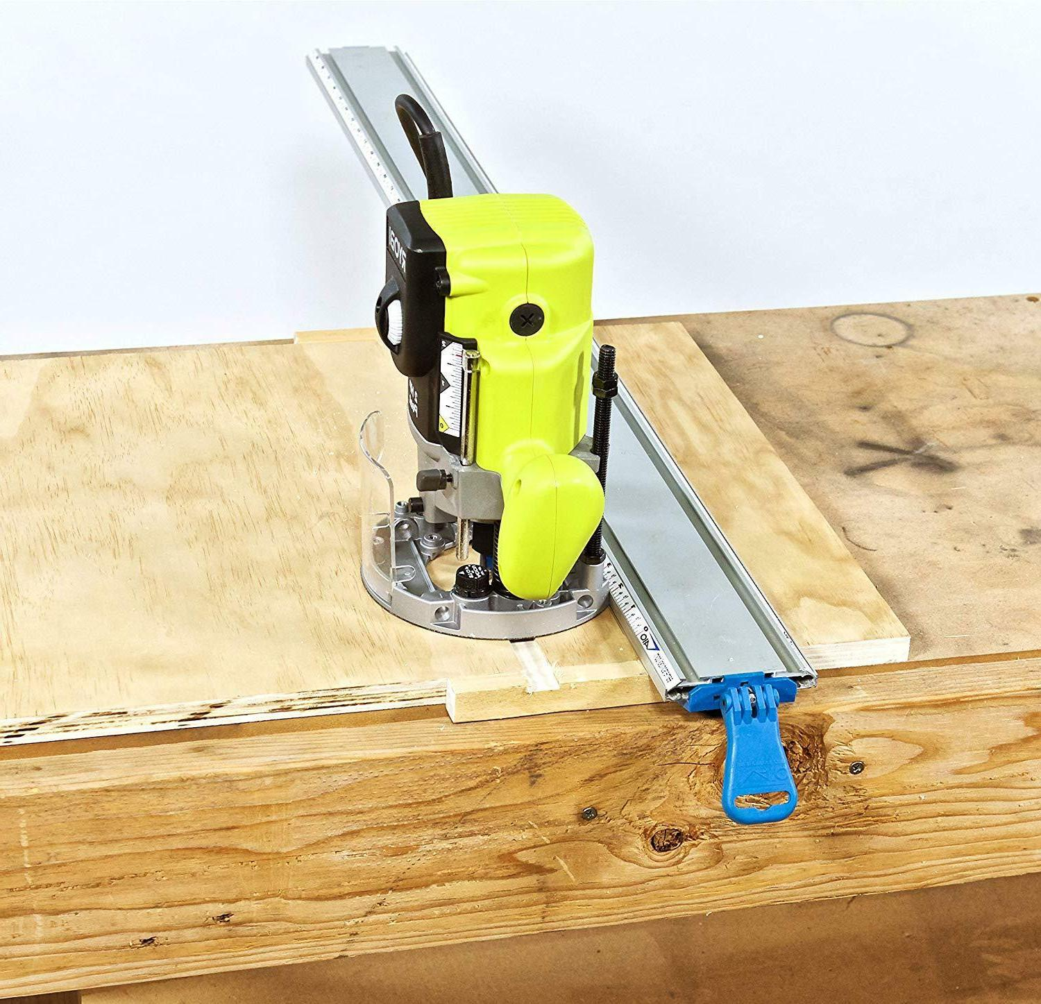 E. Wide 50-Inch Contractor Straight Edge Clamping Tool Guide