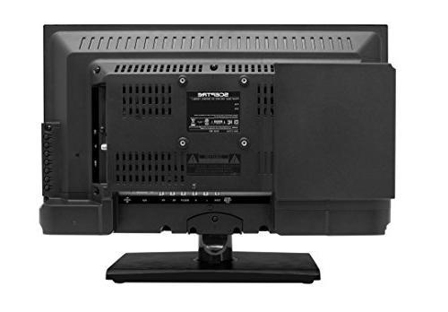 Sceptre E205BD-S 20 Inch 720p Built-in DVD Player, Fine Black