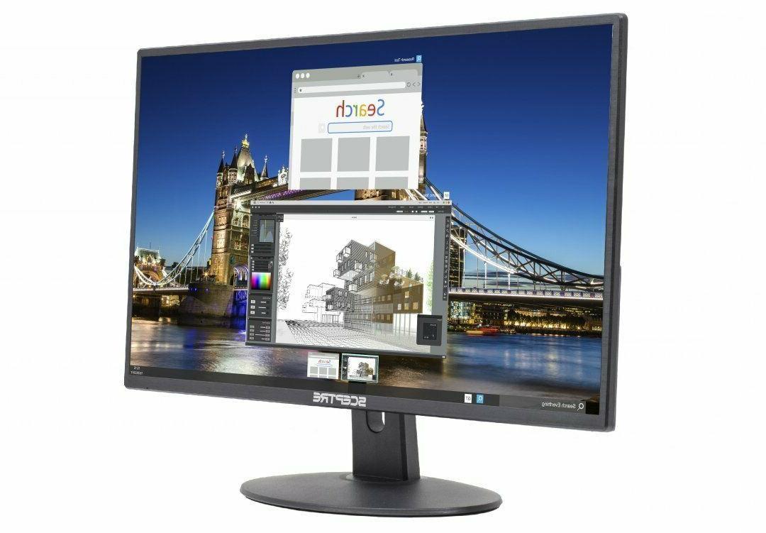 "Gaming Monitor PC Computer LED 20"" Screen Desktop HDMI DVI V"