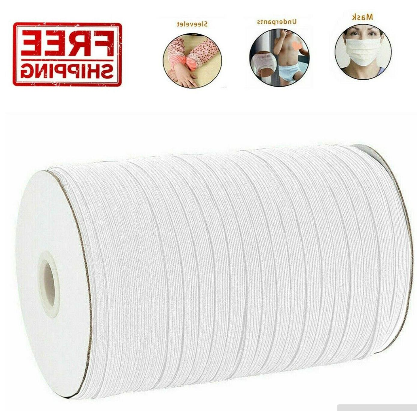 1/8 Elastic Band Cord Sewing   For Mask Sewing