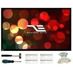 Elite Screens ezFrame2 Series 106 inch Diagonal 16 9 Fixed F