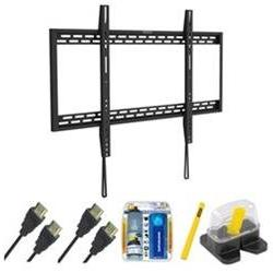 Stanley Fixed TV Mount & Set Up Kit for 60-100 TVs up to 220