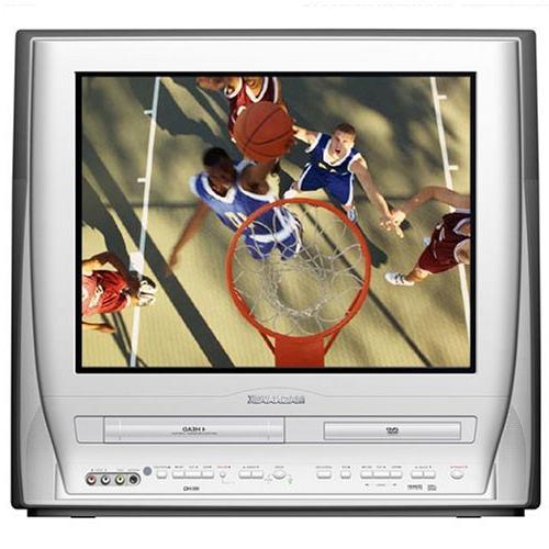 flatscreen tv dvd vcr combo
