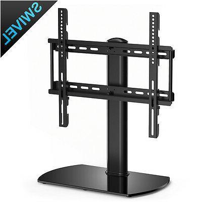 Floor Flat TV Stand Pedestal Base Wall Mount For Flat Screen