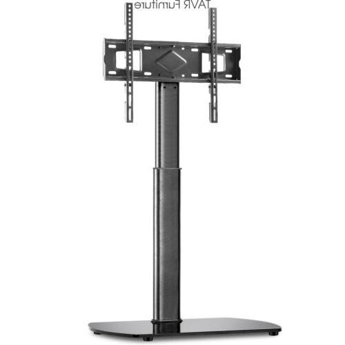 floor tv stand base with swivel mount