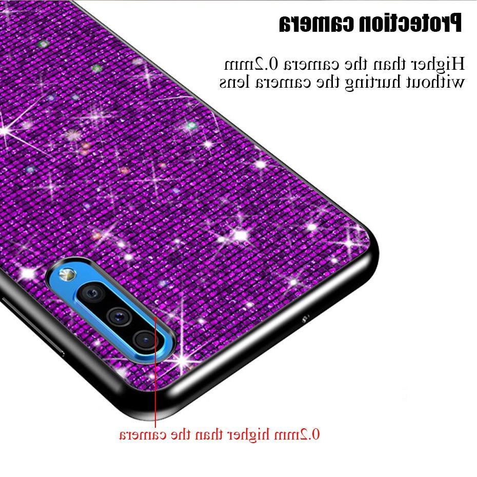 For Galaxy A50 Case Cases <font><b>Samsung</b></font> Galaxy A505 A505FZ Grid phone