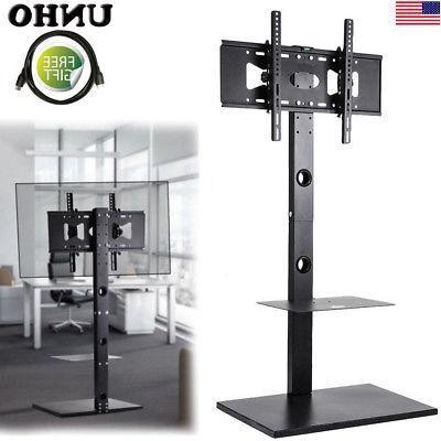 """Free Standing Floor TV Stand Corner Mount Shelf fr 32~65"""" TC"""