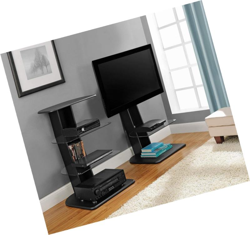 Ameriwood Stand with TVs Black