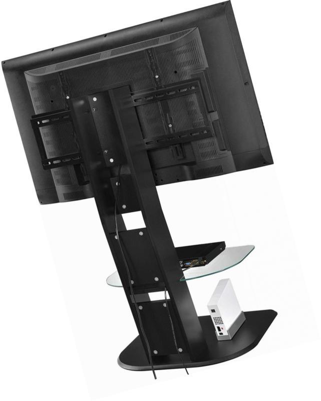 "Ameriwood Home Stand Mount TVs up 50"", Black"