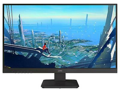 gaming lit monitor black
