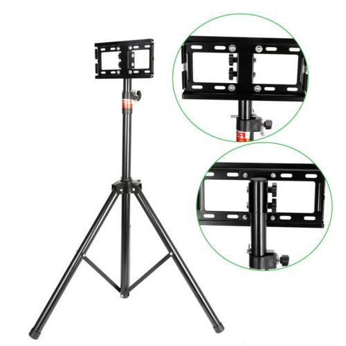 "18-32"" Portable Tripod TV Stand Television Flat Panel Moni"