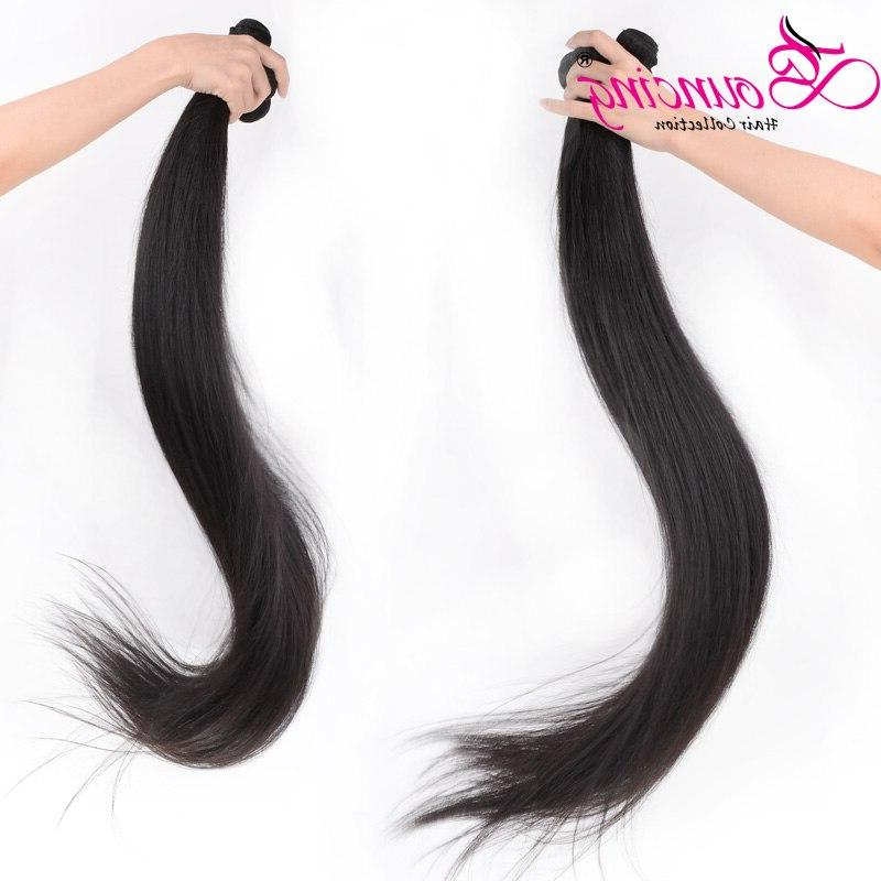 Bouncing Hair 36 <font><b>40</b></font> <font><b>50</b></font> <font><b>Inches</b></font> Straight Long <font><b>Inch</b></font> Hair Weft Brazilian Hair Extension
