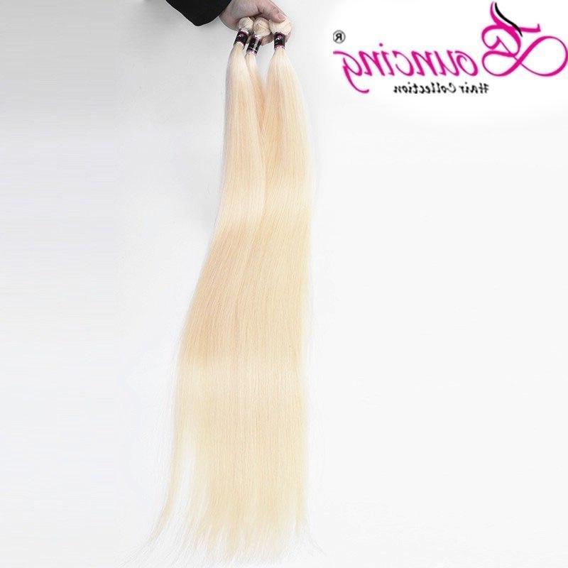 Bouncing Hair Human Hair Remy Hair 32 40 48 <font><b>Inch</b></font> Bundles